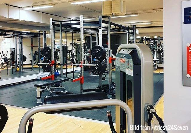 Gym Fitness24Seven Regeringsgatan Stockholm