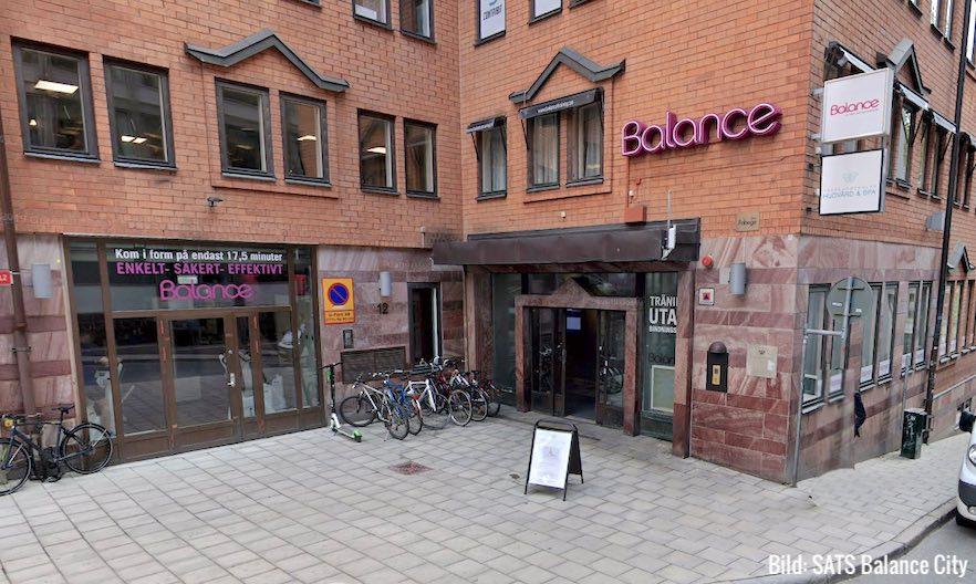 Gym SATS Balance City Stockholm